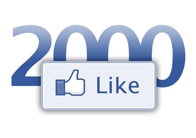celebrating 2000 facebook likes the blonde runner the blonde runner