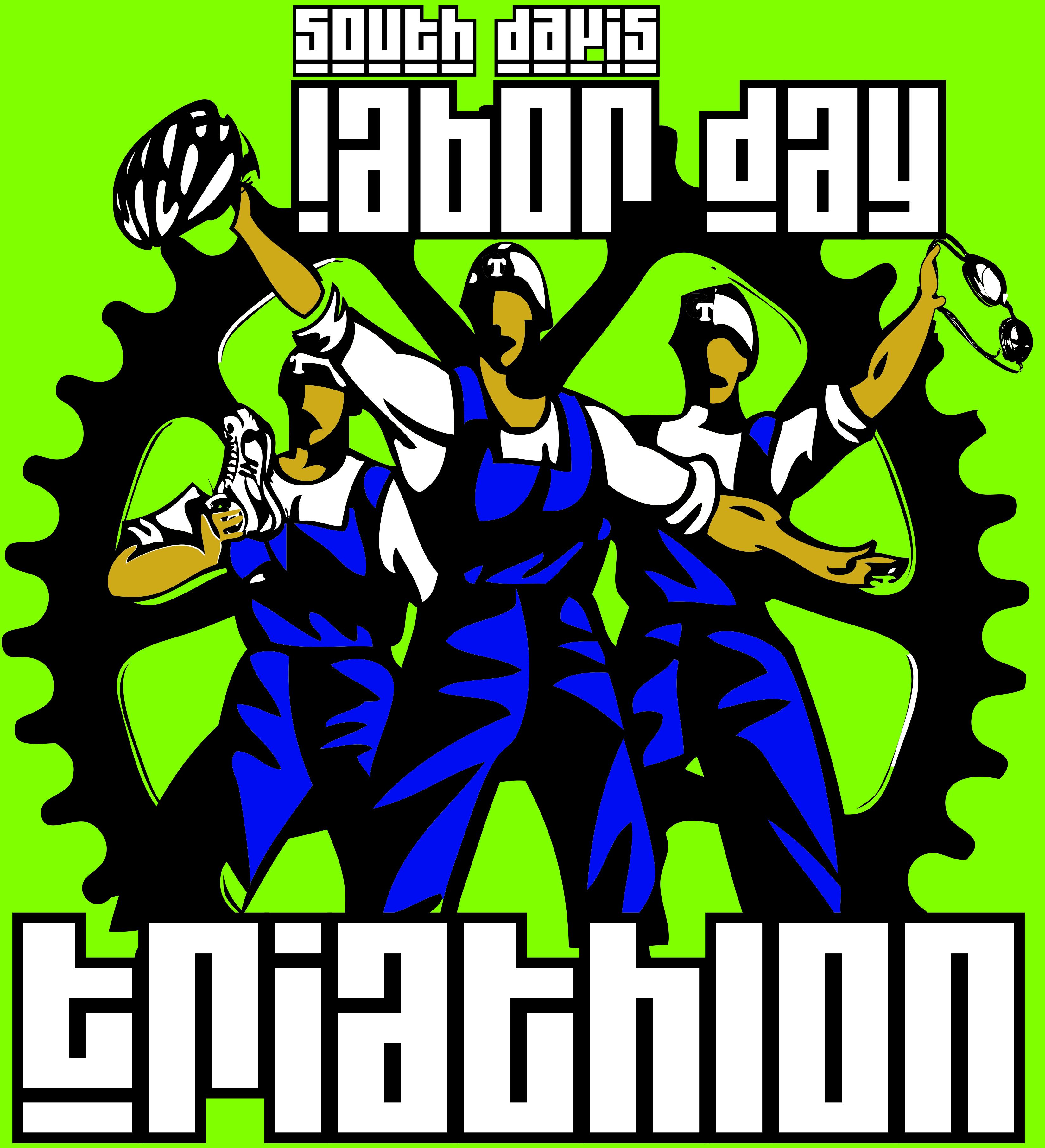 no year labor tri logo