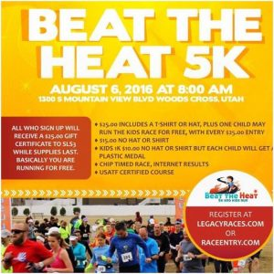 Beat the heat 5k