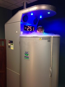 Blonde Runner Cryotherapy