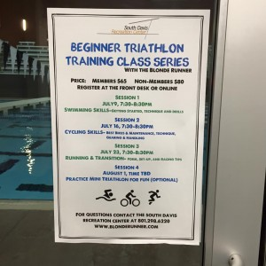 Triathlon Class July