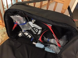 bike bag bike inside