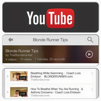 blonde runner tips