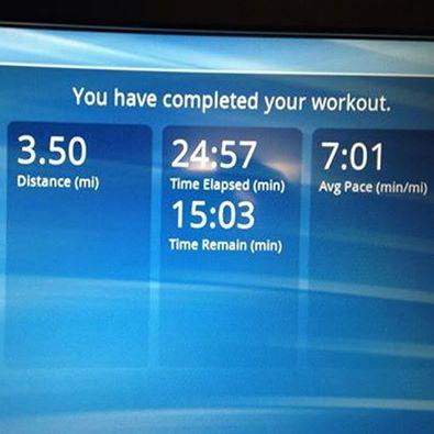 short treadmill run hot